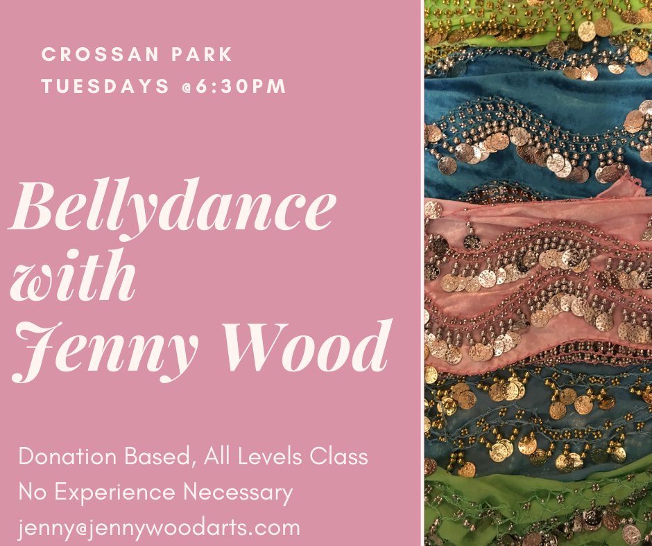 Bellydancing Classes with Jenny Wood