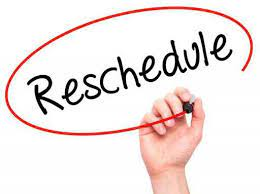 Reschedule - New Date for Meeting